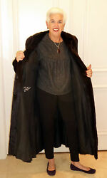 MINK Full Length Coat Beautiful Designer Made in Montreal REDUCED Keep You Warm