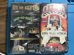 Lot Of 2 - South Park Mexican Spm Vhs Tape - Movies - Original Video / Rare