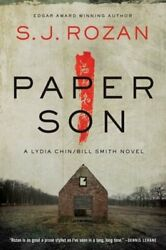 Paper Son A Lydia Chin/bill Smith Novel By S J Rozan Used