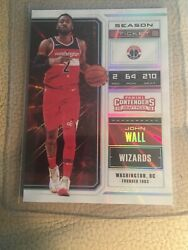 2018 Panini Contenders Cracked Ice 26 John Wall 2/5 Pack Fresh Gem Wizards Sp