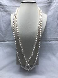 Japanese Cultured Akoya Pearls 8-8.5mm 34 Inches
