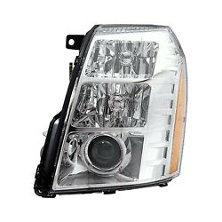 For Cadillac Escalade EXT 07-09 K-Metal Driver Side Replacement Headlight