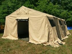 BASE X 305 and LINER Shelter System 18'X25' Tent U.S. Military LOCAL PICKUP ONLY