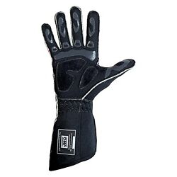 Omp Tecnica Evo Series Red Flame Retardant Silicon L Racing Gloves