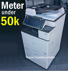 Ricoh Mpc3003 Mp C3003 Color Network Copier Print Fax Scan To Email 30 Ppm Iu