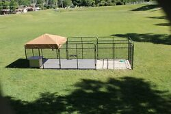6and039 X 24and039 Ultimate Dog Kennel Standard Powder-coated