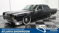 1966 Lincoln Continental Restomod classic vintage chrome black lowered airbags ls2 v8 1966 automatic