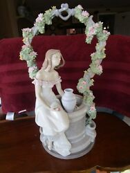 Retired Signed Lladro 6562 A Wishfor Love Mint Condition No Box