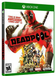 Marvel Dead Pool Deadpool Microsoft Xbox One Xb1 Role Play Action Adventure Game