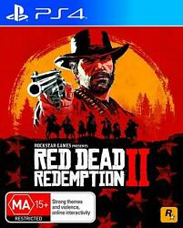 Red Dead Redemption 2 Ii Sony Ps4 Playstation 4 Rpg Open World Action Game Rdr2