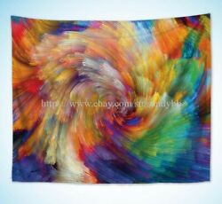 hippie wall art living room psychedelic trippy art wall tapestry