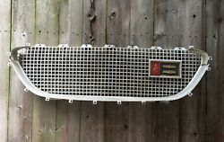 1962 Chrysler Newport Grill Grille With Emblem And Support Bars 62