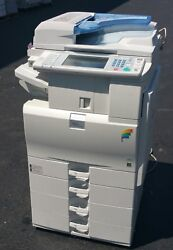 Color Copier Ricoh Mp C2551 Mpc2551 Scan Print 25 Ppm Very Low Meter .v1v