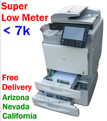 Ricoh Mp C400 Mpc400 Color Copier With Staple Finisher Low Meter Under 7k T5