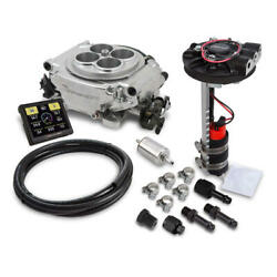 Holley Sniper EFI & Ignition Kit 550-510D-351W; Returnless 650 HP TBI for 351W