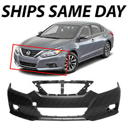 New Primered Front Bumper Cover Fascia Replacement For 2016-2018 Nissan Altima