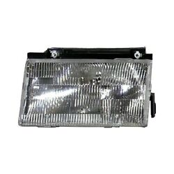 For Ford Tempo 1988-1991 Pacific Best P585V Driver Side Replacement Headlight