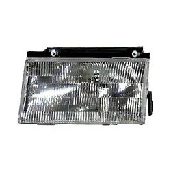 For Ford Tempo 1988-1991 Replace FO2502102V Driver Side Replacement Headlight