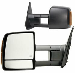 Fit System 70103-04t For Toyota Tundra Driver/passenger Side Replacement Mirror