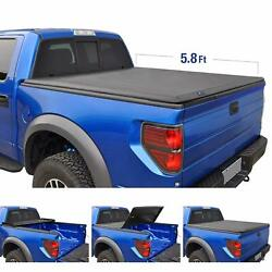 Truck Bed T3 Tri-Fold Truck Bed Tonneau Cover TG-BC3C1006 works with 2014-2019