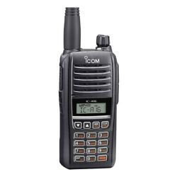 Icom Vhf Air Band Handheld Transceiver Comm Only P/n Ic-a16