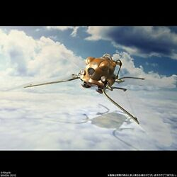 Castle in the Sky Flaptter Studio Ghibli Sozo Galleria ABS PET Figure Bandai