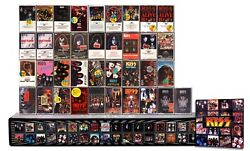 Kiss - 37 New/sealed Cassette Tapes In A Huge Custom Xxl Box Set Lot + More