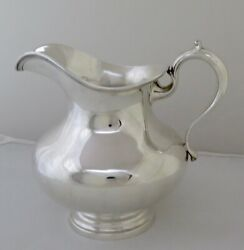 Vintage Whiting Sterling Silver Water Pitcher