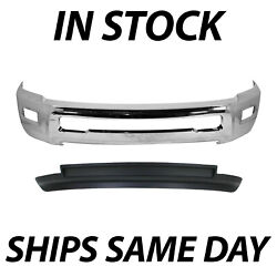 New Chrome Steel Front Bumper Air Dam Kit For 2010-2012 Dodge Ram 2500 3500 4wd