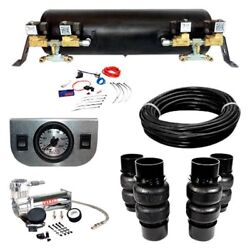 For Chevy Malibu 1973-1977 Ez Air Ride Deluxe Air Suspension Kit
