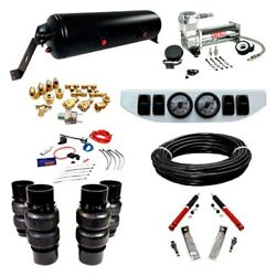 For Chevy El Camino 78-87 Ez Air Ride Classic+ Front And Rear Air Suspension Kit