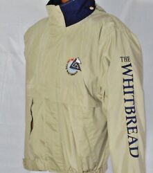 Vintage Whitbread 97/98 Sailing Jacket Official Race Around The World Gear Sz S