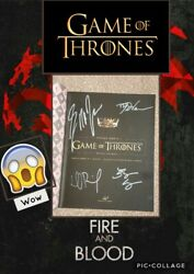 Inside Hboand039s Game Of Thrones Signed Collectors Item Rare