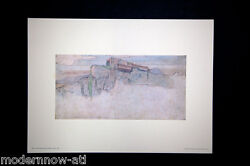 Frank Lloyd Wright Lithograph Andrsquoed Limited Ed. Rose Pauson House 1940 +framing