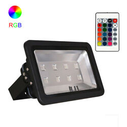4pcs 400w Led Flood Light Rgb 16 Color Changing Backpack Waterproof High Power
