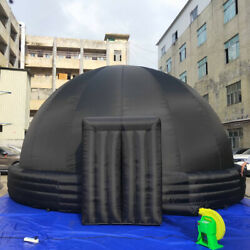 Mobile Inflatable Planetarium Dome Tent School Video Screen With Pvc Mat 38m