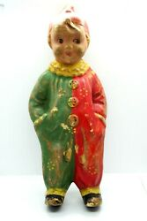 Antique Early Rare Clown Toy Doll