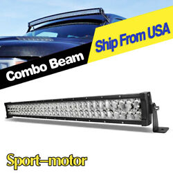 Offroad 32inch Led Light Bar Spot Flood Driving Lamp 34and039and039 For Jeep Truck Suv Ute