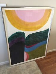 Carol Summers Woodcut. Framed Matted Signed And Numbered 14/75