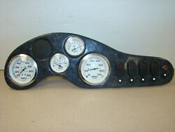 Teleflex Gauge Cluster And Switches With Dash