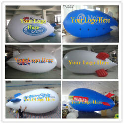 5m 16ft/4m 13ft Giant Inflatable Advertising Blimp /flying Helium Balloon Ax