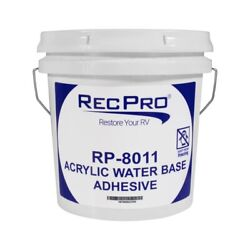 Rv Rubber Roof Adhesive 8011 1 Gallon Water-based Universal Rv Roof Glue