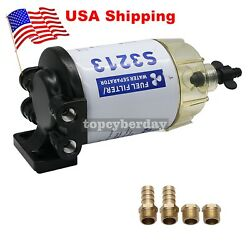 Boat Fuel Water Separator Marine S3213 System For Mercury Yamaha Outboard Us