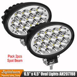 6.5x4.5 Inch Oval 65w Cree Led Tractor Work Lights For John Deere, Case Ih,jcb