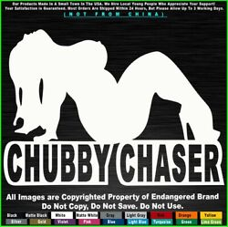 Sexy Girls Chubby Chaser Thick Stripper Naked Women Fat Chicks Jdm Sticker Decal