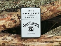 Zippo Lighter - Jack Daniels Not Subject To Change - Old No. 7 - 205jd 325