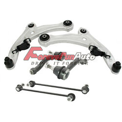 6pc Front Lower Control Arm Ball Joint Stabilizer for 2007-2012 Nissan Altima