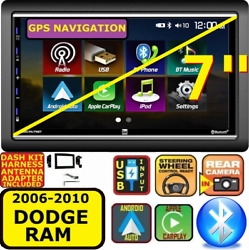 06-10 Dodge Ram Apple Carplay Android Auto Usb Touchscreen Bluetooth Package