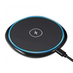7.5w And 10w Fast Charging Ultra Slim Wireless Charger R8p For Smartphones