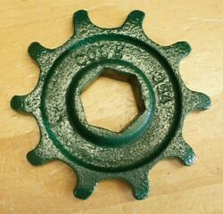 Cole Charlotte Nc 1 Row Corn Cotton Planter 10 Tooth Chain Distance Sprocket Hex